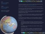 World Cities Database - Excel 06.2011